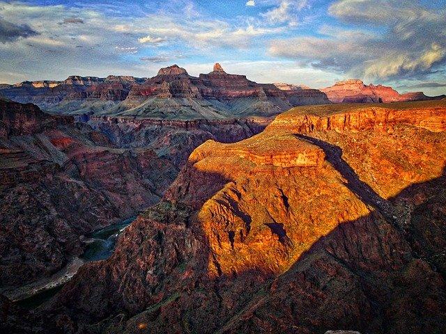 grand canyon scénický pohled