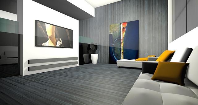 grafika obýváku