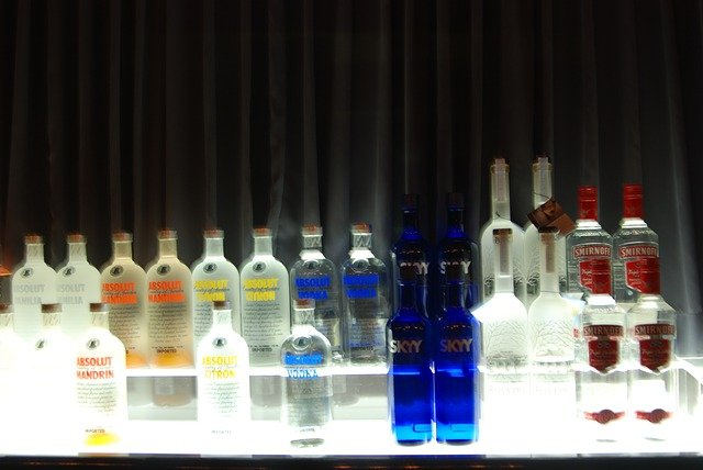 vodky v baru
