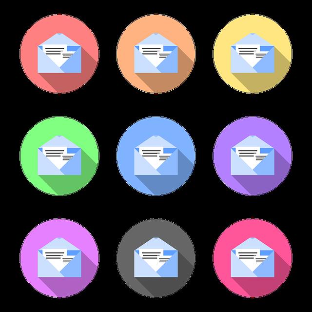barevná pošta