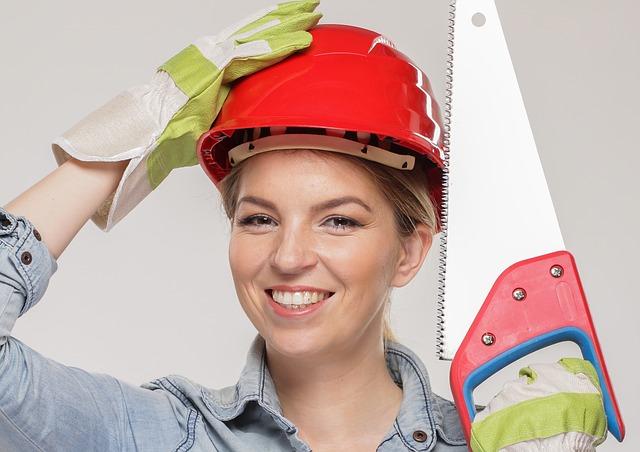 žena při práci
